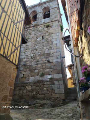 Torre de las Campanas en Cepeda (Sierra de Francia, Salamanca)