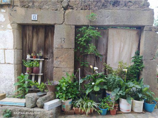 Antigua casa abandonada en Cepeda (Salamanca)