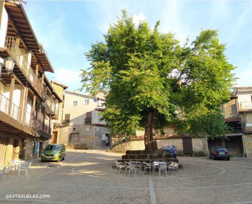 Plaza Mayor y El Moral de Cepeda (Sierra de Francia, Salamanca)
